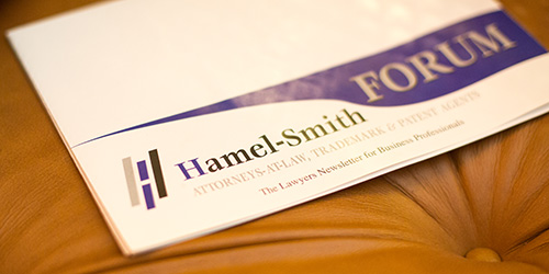 Hamelsmith Forum The Lawyers Newsletter for Business Professionals