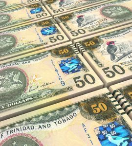 TT 50 dollar bills. Hamel-Smith practices law in Banking and Finance