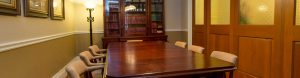 Library at Hamel-Smith offices