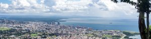 View of Port of Spain where M. Hamel-Smith & Co.'s offices are located
